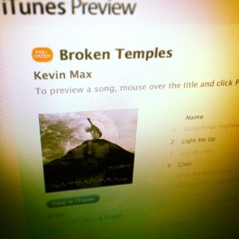 Get BROKEN TEMPLES now on iTunes