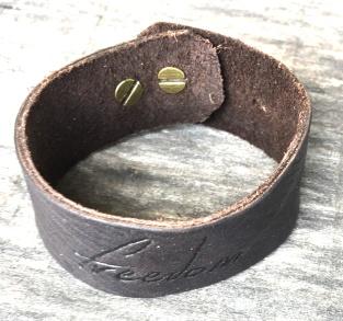 Freedom Dark Wide Bracelet